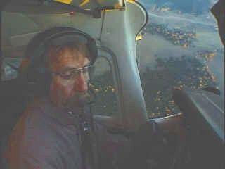 Bernie Roland landing at Guachochi