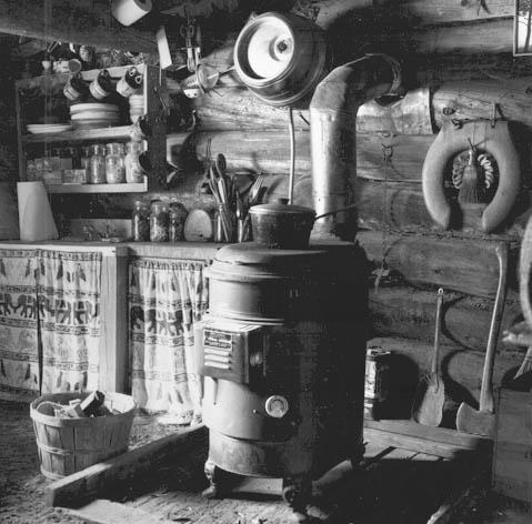 Inside Jaime's cabin