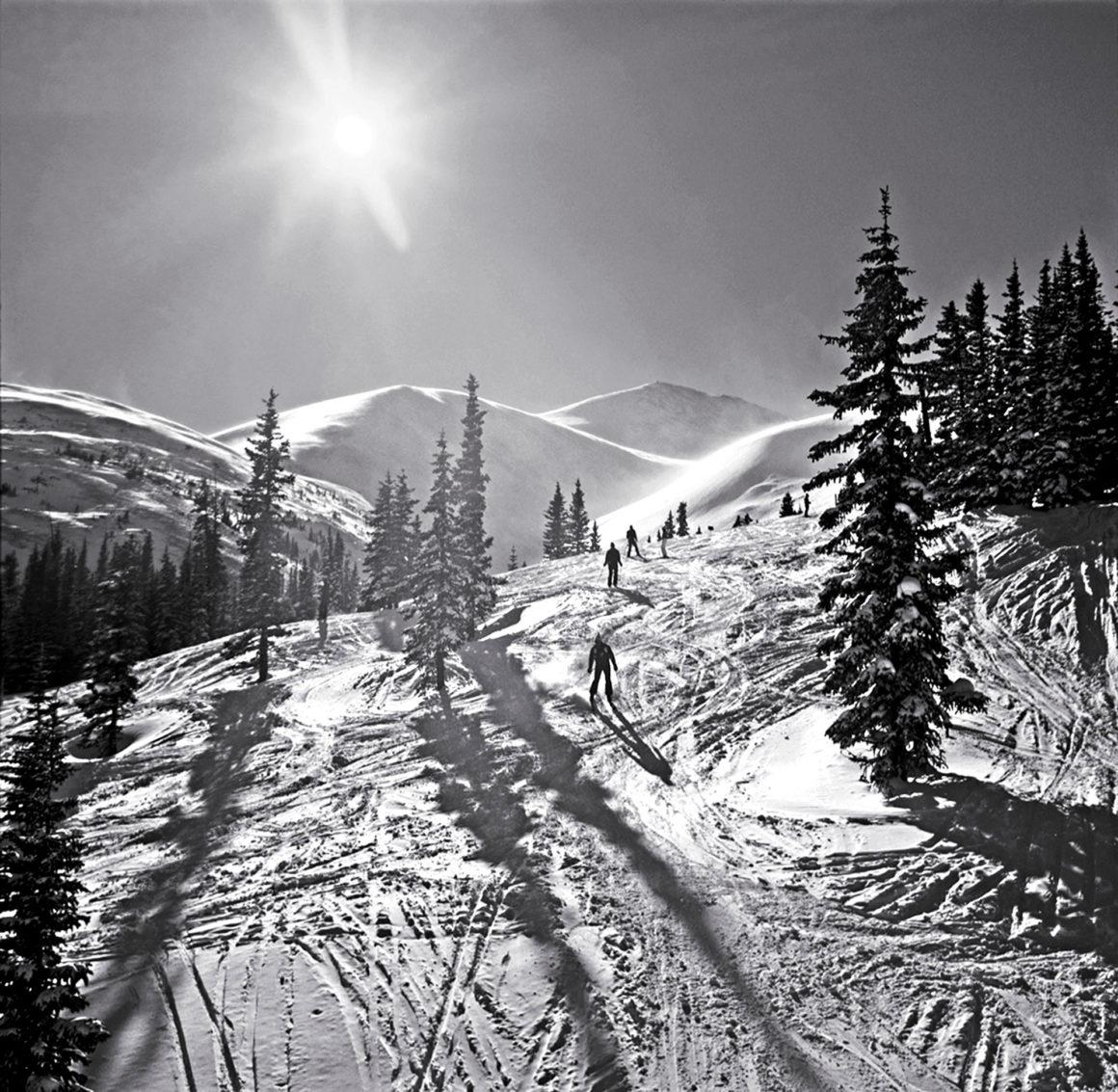 Skiers on Peak 8, Breckenridge