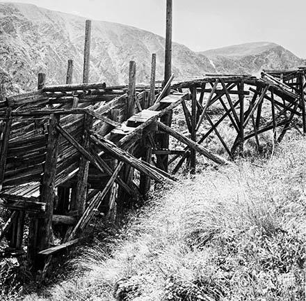 Montezume ghost town mining site