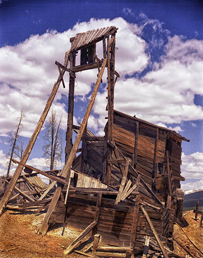 Sally Barber mine near Breckenridge