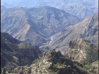 Melina's family lived near the Copper Canyon